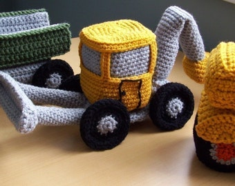 Monster Trucks...PDF Crochet Pattern
