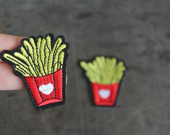 Fries Food Patch