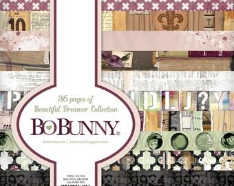 "BoBunny ""Beautiful Dreamer"" Collection 6x6 Pad"