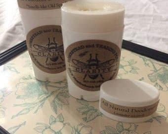 All Natural Deodorant