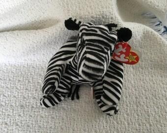 Beanie Baby, Ty Beanie Baby, Ziggy, Zebra, Beanie Baby, Ty Zebra, Ziggy the Zebra, Ty Zebras, Ty Babies