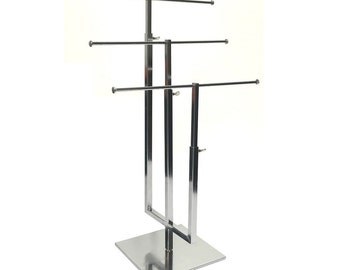 3-Tier Metal Jewelry T-Stand