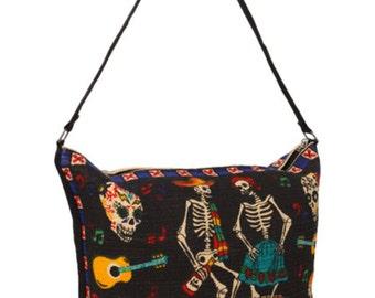 Folklorico Dancing Skeletons purse