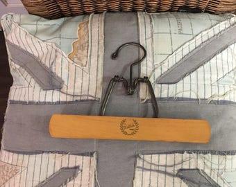 Vintage Hanger Wooden Hanger Pants Hanger Pant Hanger