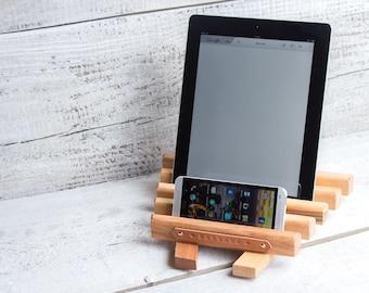 Ipad stand kitchen / Ipad stand case / Ipad stand holder / Ipad tablet stand / Wood ipad stand / Ipad air stand / Ipad air 2 stand