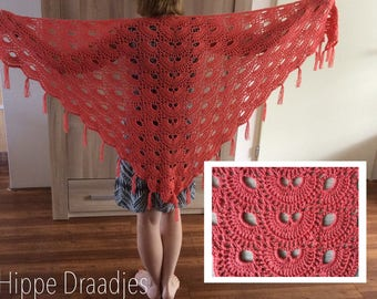 Shawl, wrap crochet