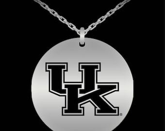 UNIVERSITY OF KENTUCKY Logo Pendant Necklace