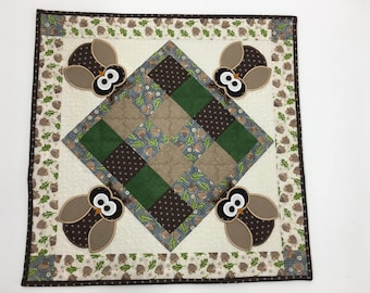 Watching Owls Table Topper Kit