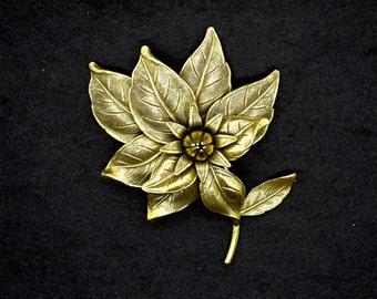 Botticelli Flower Brooch