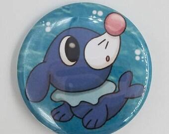 Pokemon Popplio 1.5 inch Button Sun and Moon