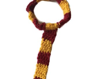 Harry Potter Inspired ToddlerTie, Hogwarts, Gryffindor, Cosplay, Baby Photo Prop, Harry Potter Gift, Gift, Harry Potter Theme, Magic