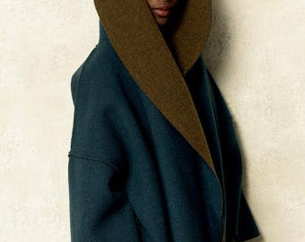 Coat by V8930 Vogue sewing pattern