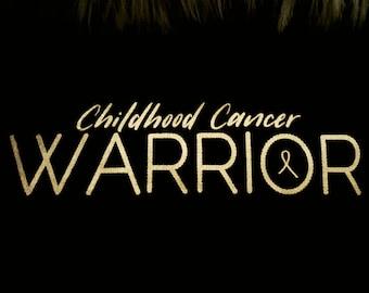 Childhood Cancer Warrior TShirt