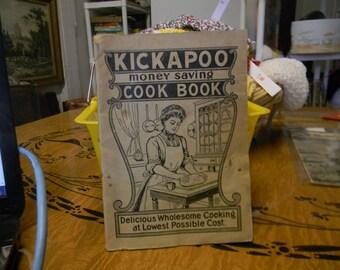 Kickapoo money saving cook book
