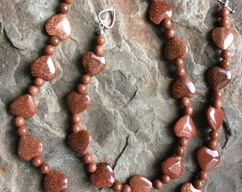 Goldstone Necklace 20% off