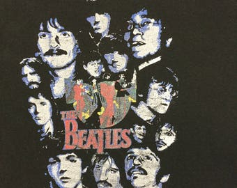 Amazing 70s authentic Beatles band tee