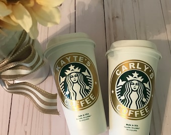 Personalized Reusable Starbucks Cup