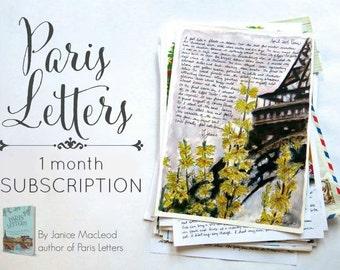 PARIS LETTERS: One letter