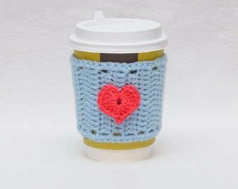 Valentine's Day Holiday gift guide  coffee gift Coffee cozy cup sleeve gift Valentine's Day gifts coffee mug cozy