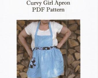 Curvy Girl Apron PDF Pattern Tutorial