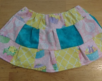 Cupcake party Patchwork skirt