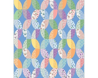 Metro Twist - Berries and Blossoms - Quilt Kit - Maywood Studio - Really cute fabric! Designed by Jenny Pedigo and Helen Robinson - C