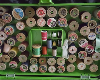 Sewing Thread Box