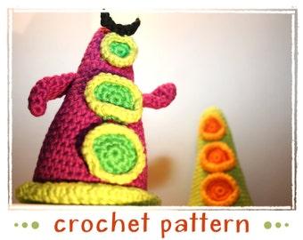Tentacles - Crochet Pattern - PDF file - Amigurumi