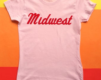 Midwest Flock Tee - Ladies