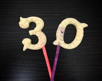 Organic Number Lotion Pops