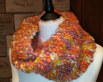 Terra cotta multicolor Snood