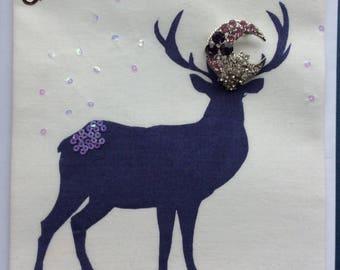Christmas Gift Card: Reindeer