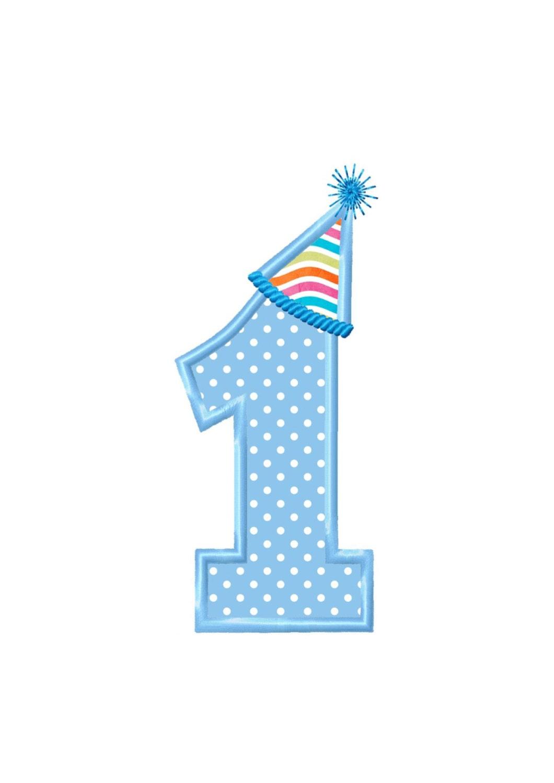 Applique Machine Embroidery DESIGN NO. 98.....Birthday Hat No.