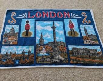 Vintage London Tapestry