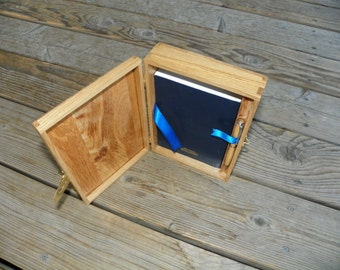 Custom built Bible Box with Insert for Pen