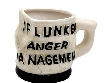 I flunked anger management mugs/cups! 3D designed cup. Coffee mug, tea mug.