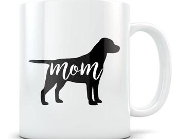 Black Labrador Retriever gifts for women, Black Labrador gifts, Black Lab mom, Black Lab mug, Black Labrador mom, Black Lab gifts
