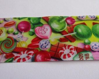 satin ribbon, set of 3 meter, ribbon 38mm wide, candy ribbon