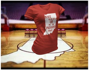 She grew up in an Indiana town. Ladies soft tee inspired by Tom Petty/Tom Petty/Tom Petty shirt/Tom Petty tee/Indiana tee/tee