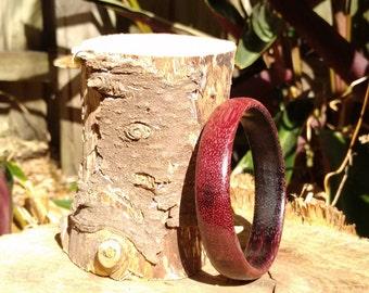 Purpleheart Wooden Bangle