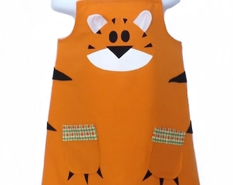 Tiger Child's Dressing up Costume Dress/Tunic