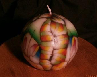Wraparound Random Ball Candle