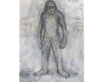 The Big Grey Man of Ben MacDhui Print