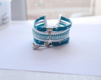 turquoise Cuff Bracelet star