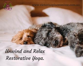 35 Minute Restorative Yoga Class