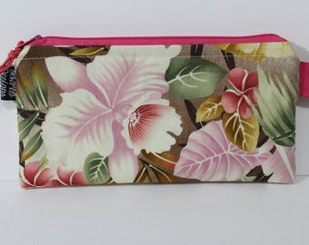 Cash Envelope System Budget Wallet with Tabbed Dividers Dave Ramsey System Coupon Organizer Wallet Coin Pouch Exotic Floral Print