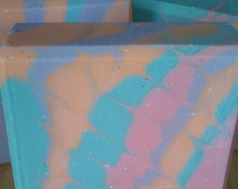 Spring Pastel Soap
