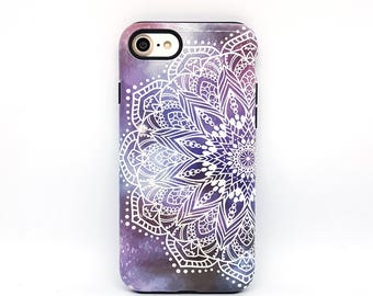 Mandala iPhone 7 case, iPhone 8 case, iPhone 6s plus, iPhone 5s case, iPhone 6 case, iPhone 6s case, iphone case, phone case - Boho Nebula