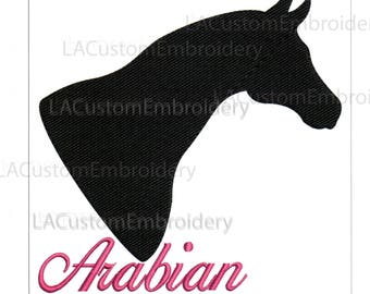 Embroidery Designs Arabian Horse Head Arabian Horse Arab