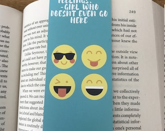 Bookworm for her,  Mean Girls Lover, Gift ideas for book lovers, Unique bookmarks, Bookish gift, Gift for Bookworm, Gift for teacher